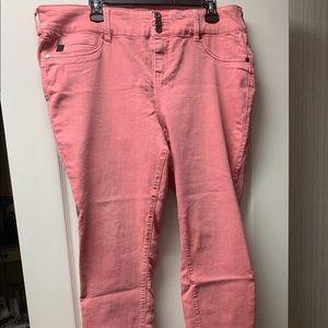 Torrid pink jeggings